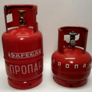 Баллоны газовые SAFEGAS металлические